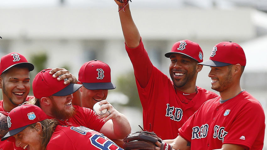 Red Sox Spring Baseball